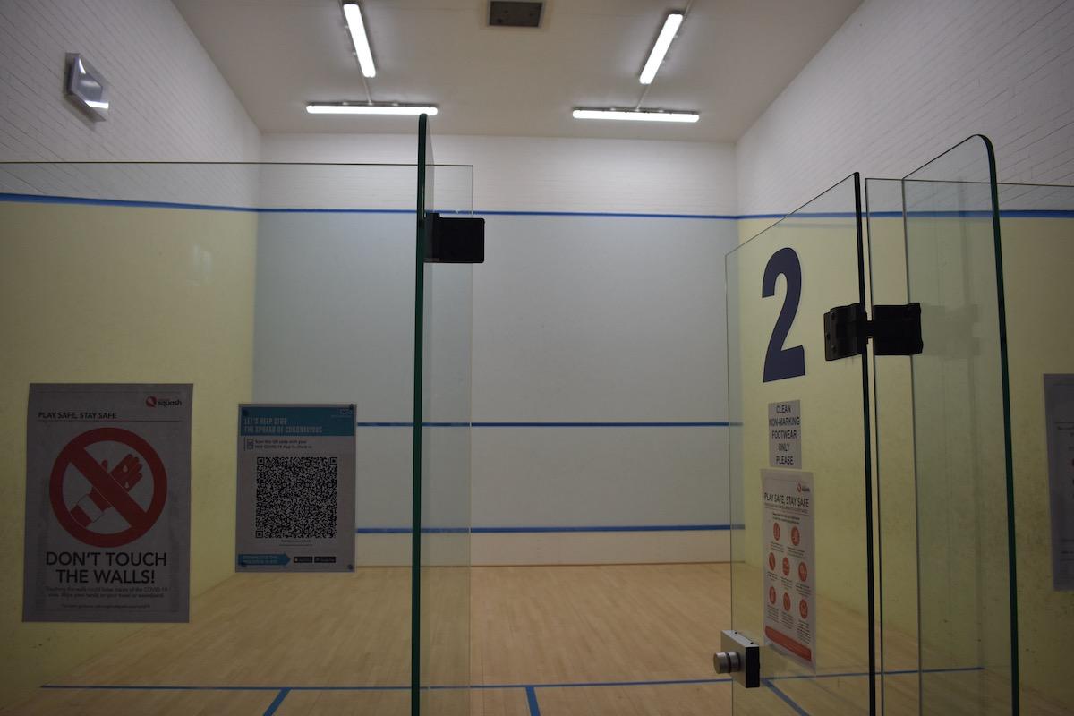 squash court hire milton keynes