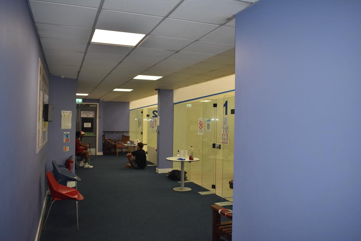 Shenley Leisure Centre squash court hire milton keynes