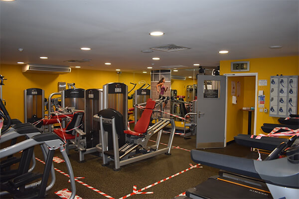 fitness room and gym Shenley Leisure Centre