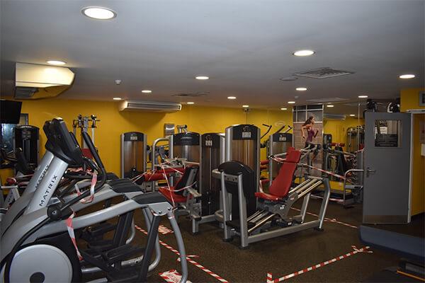 fitness room and gym milton keynes