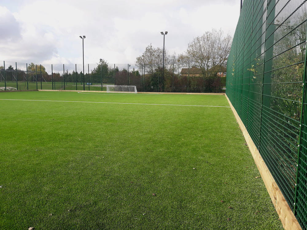 artificial grass football pitch