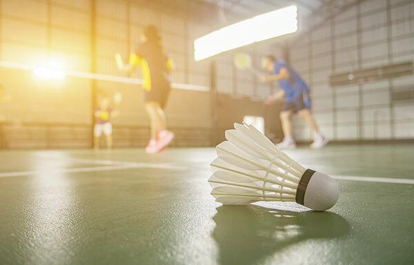 badminton court hire in Milton Keynes