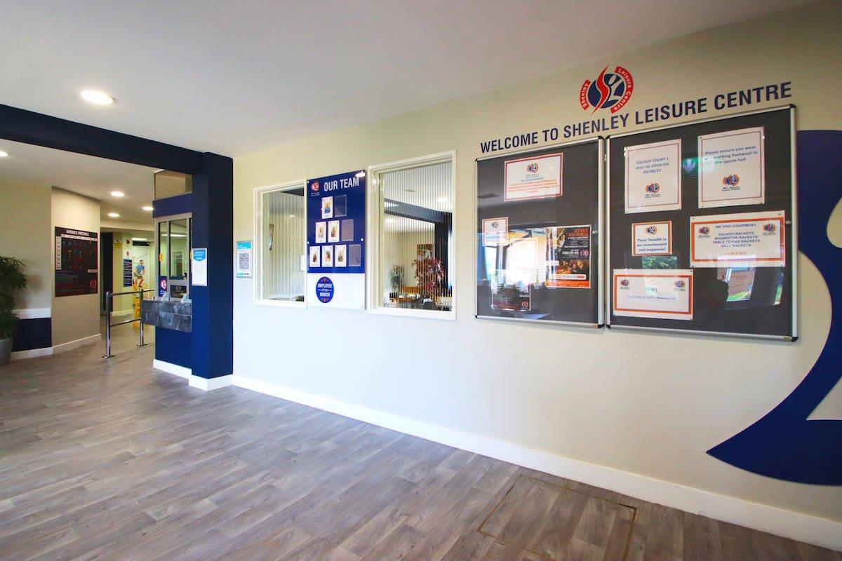 contact shenley leisure centre