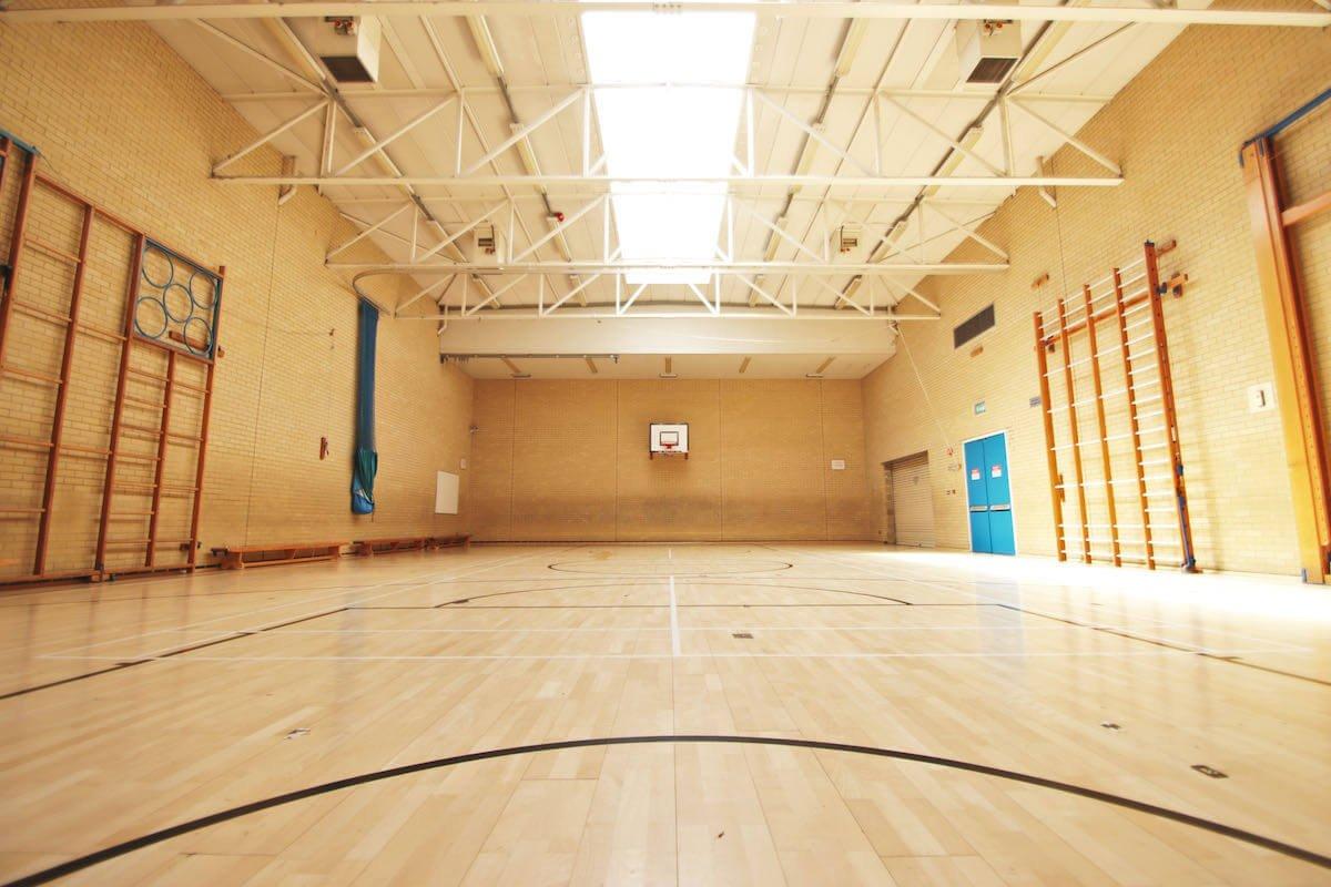 sports hall hire in milton keynes