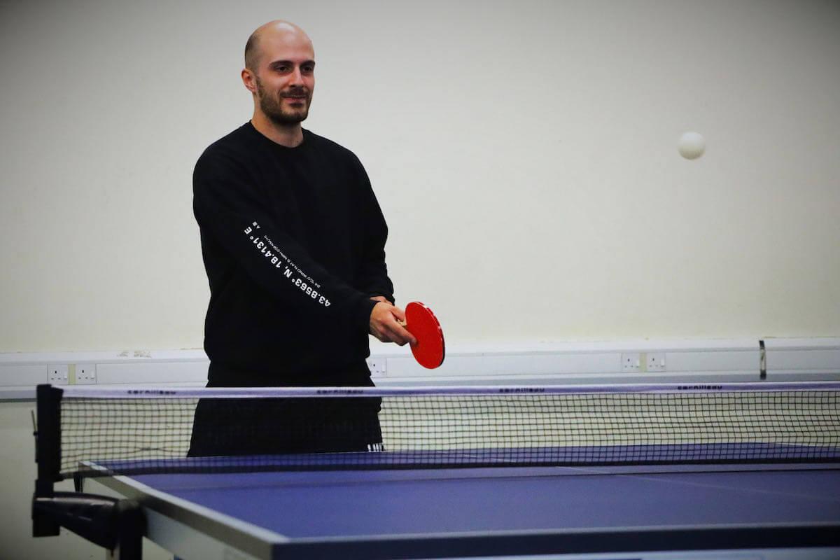 table tennis hire in milton keynes