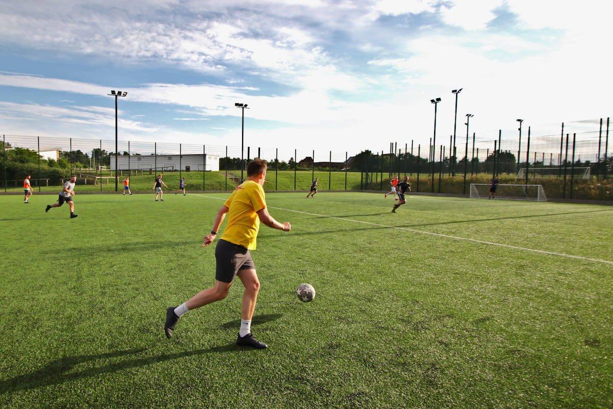 football pitch hire in milton keynes